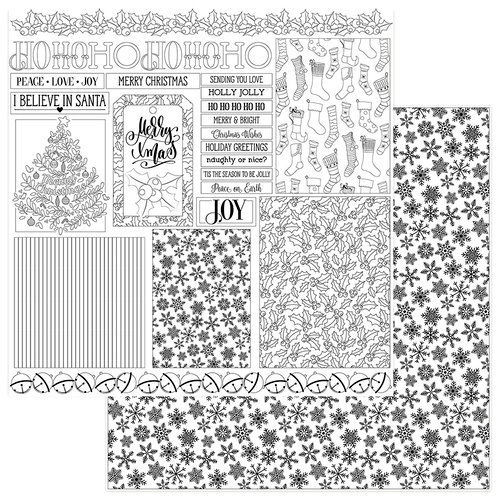 Photo Play Paper Color Me Christmas Cards