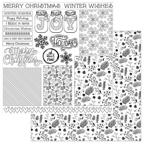Photo Play Paper Color Me Winter Cards