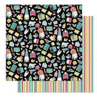 Photo Play Paper - Crafting With My Gnomies Collection - 12 x 12 Double Sided Paper - Crafty Weekend