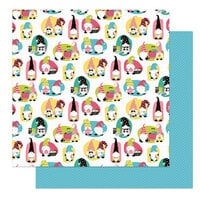 Photo Play Paper - Crafting With My Gnomies Collection - 12 x 12 Double Sided Paper - Scrappers