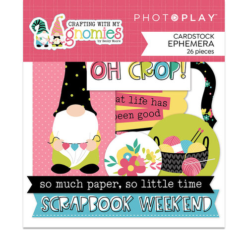 Photo Play Paper - Crafting With My Gnomies Collection - Ephemera