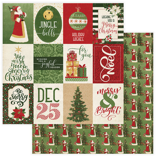 Christmas Memories.Photo Play Paper Christmas Memories Collection 12 X 12 Double Sided Paper Joyful Season
