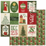 Photo Play Paper - Christmas Memories Collection - 12 x 12 Double Sided Paper - Joyful Season