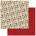 Photo Play Paper - Christmas Memories Collection - 12 x 12 Double Sided Paper - Under The Tree