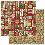 Photo Play Paper - Christmas Memories Collection - 12 x 12 Double Sided Paper - 'Tis The Season