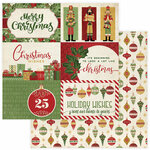 Photo Play Paper - Christmas Memories Collection - 12 x 12 Double Sided Paper - Holiday Wishes
