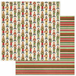 Photo Play Paper - Christmas Memories Collection - 12 x 12 Double Sided Paper - Nutcracker