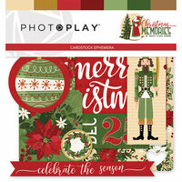 Photo Play Paper - Christmas Memories Collection - Ephemera