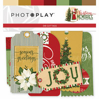 Photo Play Paper - Christmas Memories Collection - Tags