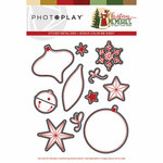 Photo Play Paper - Christmas Memories Collection - Dies - Elements