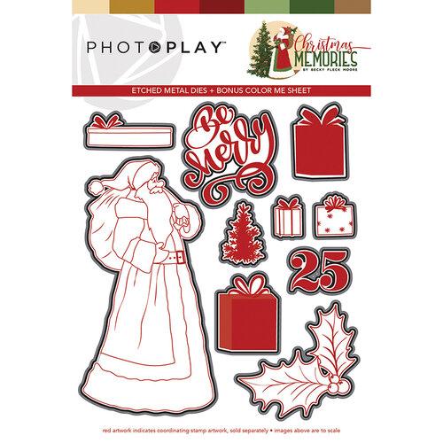 Photo Play Paper - Christmas Memories Collection - Dies - Santa