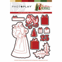 Photo Play Paper - Christmas Memories Collection - Dies - Santa