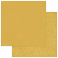 Photo Play Paper - Christmas Memories Collection - 12 x 12 Double Sided Paper - Solids Plus - Gold