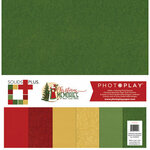 Photo Play Paper - Christmas Memories Collection - 12 x 12 Solids Plus Kits