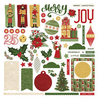 Photo Play Paper - Christmas Memories Collection - 12 x 12 Cardstock Stickers - Elements