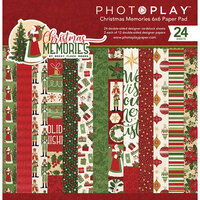 Photo Play Paper - Christmas Memories Collection - 6 x 6 Paper Pad