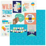 Photo Play Paper - Cake Collection - Party Animal - 12 x 12 Double Sided Paper - Wild Thing