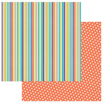 Photo Play Paper - Cake Collection - Party Animal - 12 x 12 Double Sided Paper - Eat Cake