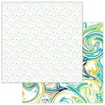 Photo Play Paper - Cake Collection - Party Animal - 12 x 12 Double Sided Paper - Confetti