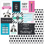 Photo Play Paper - Cake Collection - Panda Party - 12 x 12 Double Sided Paper - Panda Wishes