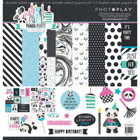 Photo Play Paper - Cake Collection - Panda Party - 12 x 12 Collection Pack