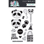 Photo Play Paper - Cake Collection - Clear Acrylic Stamps - Panda Party