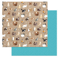 Photo Play Paper - Cat Lover Collection - 12 x 12 Double Sided Paper - Soft Kitty