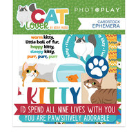 Photo Play Paper - Cat Lover Collection - Ephemera