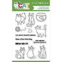 Photo Play Paper - Cat Lover Collection - Clear Photopolymer Stamps