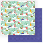 Photo Play Paper - Dragon Dreams Collection - 12 x 12 Double Sided Paper - Do Not Feed the Dragons
