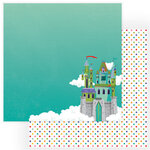 Photo Play Paper - Dragon Dreams Collection - 12 x 12 Double Sided Paper - Damsel