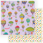 Photo Play Paper - Dragon Dreams Collection - 12 x 12 Double Sided Paper - What's Up