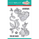 Photo Play Paper - Dragon Dreams Collection - Clear Photopolymer Stamps