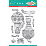 Photo Play Paper - Dragon Dreams Collection - Clear Photopolymer Stamps - Up and Away