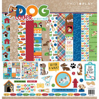 Photo Play Paper - Dog Lover Collection - 12 x 12 Collection Pack