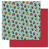 Photo Play Paper - Dog Lover Collection - 12 x 12 Double Sided Paper - In the Dog House