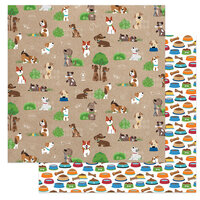 Photo Play Paper - Dog Lover Collection - 12 x 12 Double Sided Paper - Go For A Walk