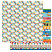 Photo Play Paper - Dog Lover Collection - 12 x 12 Double Sided Paper - Woof