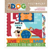 Photo Play Paper - Dog Lover Collection - Ephemera