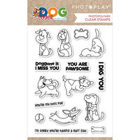 Photo Play Paper - Dog Lover Collection - Clear Photopolymer Stamps