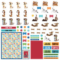 Photo Play Paper - Dog Lover Collection - 12 x 12 Paper - Elements