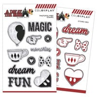 Photo Play Paper - A Day At The Park Collection - Clear Photopolymer Stamps and Dies
