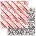 Photo Play Paper - Dear Santa Collection - Christmas - 12 x 12 Double Sided Paper - Deck The Halls
