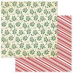 Photo Play Paper - Dear Santa Collection - Christmas - 12 x 12 Double Sided Paper - Holly