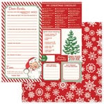Photo Play Paper - Dear Santa Collection - Christmas - 12 x 12 Double Sided Paper - Dear Santa