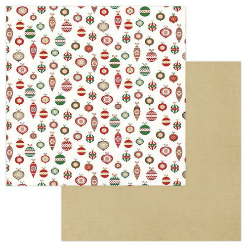 Photo Play Paper - Dear Santa Collection - Christmas - 12 x 12 Double Sided Paper - Trim The Tree