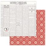 Photo Play Paper - Dear Santa Collection - Christmas - 12 x 12 Double Sided Paper - Merry Christmas