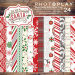 Photo Play Paper - Dear Santa Collection - Christmas - 6 x 6 Paper Pad