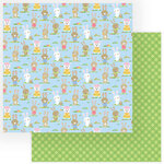 Color Play - Easter Wishes Collection - 12 x 12 Double Sided Paper - My Peeps