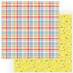 Color Play - Easter Wishes Collection - 12 x 12 Double Sided Paper - Spring Blossoms
